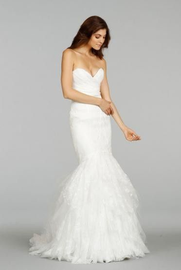 Best Ti Adora Layered Trumpet Gown at Shoptiques