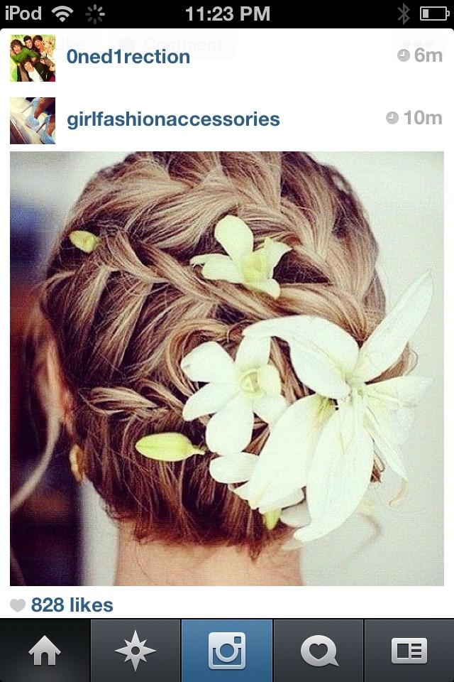 Prom hair due?