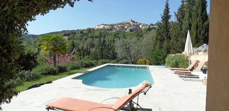 Villa Mayan with a wonderful pool and views towards Callian Village