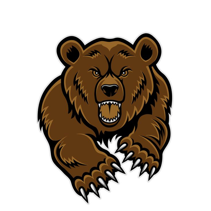 Bear Mascot Clipart - Cliparts.co | bears | Pinterest ...