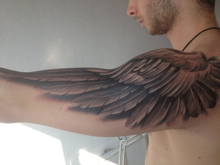 This is really cool. I'm not usually into wings, but these are perfectly placed.