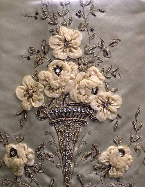 Antique embroidery.