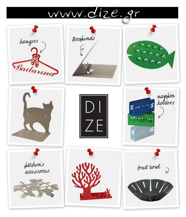 DIZE, metallic decorative And Useful Objects