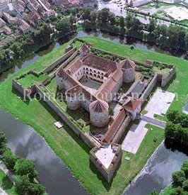Fagaras Fortress.  Transylvania, Romania.  Obsessing about The Balkans today.