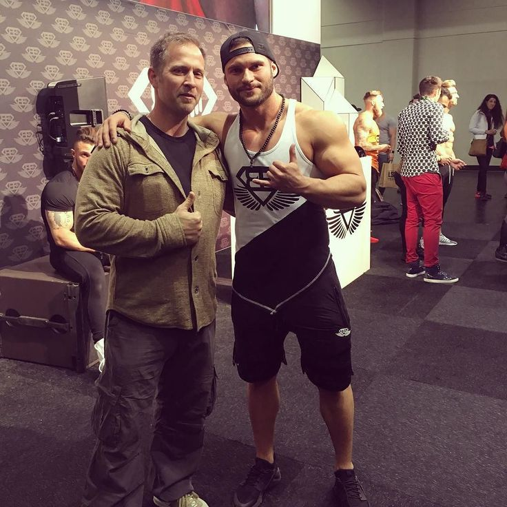 2 x CEO's - stopping by Tavi Castro and the #bodyengineers booth at #fibo - Nice guy! | Find out more at www.northfitness.no