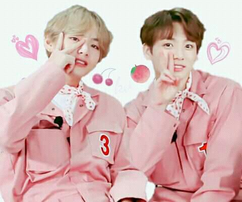 You look so good in pink~ in 2019 | BTS | Taekook, Bts
