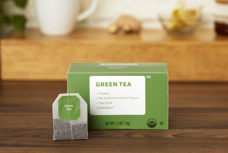 Brandless   All $3. Organic Green Tea