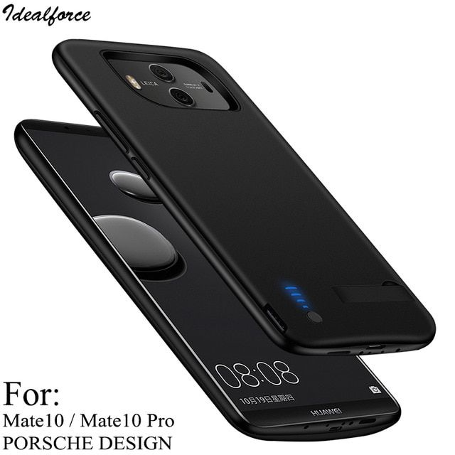 6000mah Battery For Huawei Mate 10 Pro External Power Bank Charger Tpu Frame Phone Cover Case For Mate 10 Porsche Design Shell Review Phone Case Cover Power Bank Charger Phone Covers
