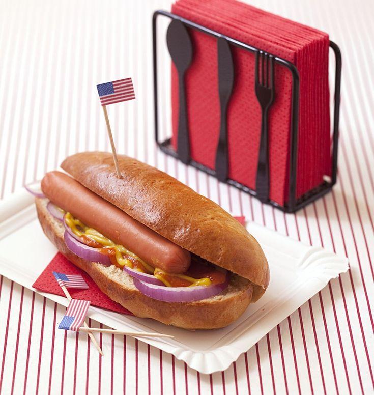 Hot-dog maison - Recettes de cuisine Ôdélices