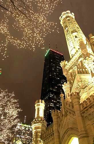 Chicago lights.