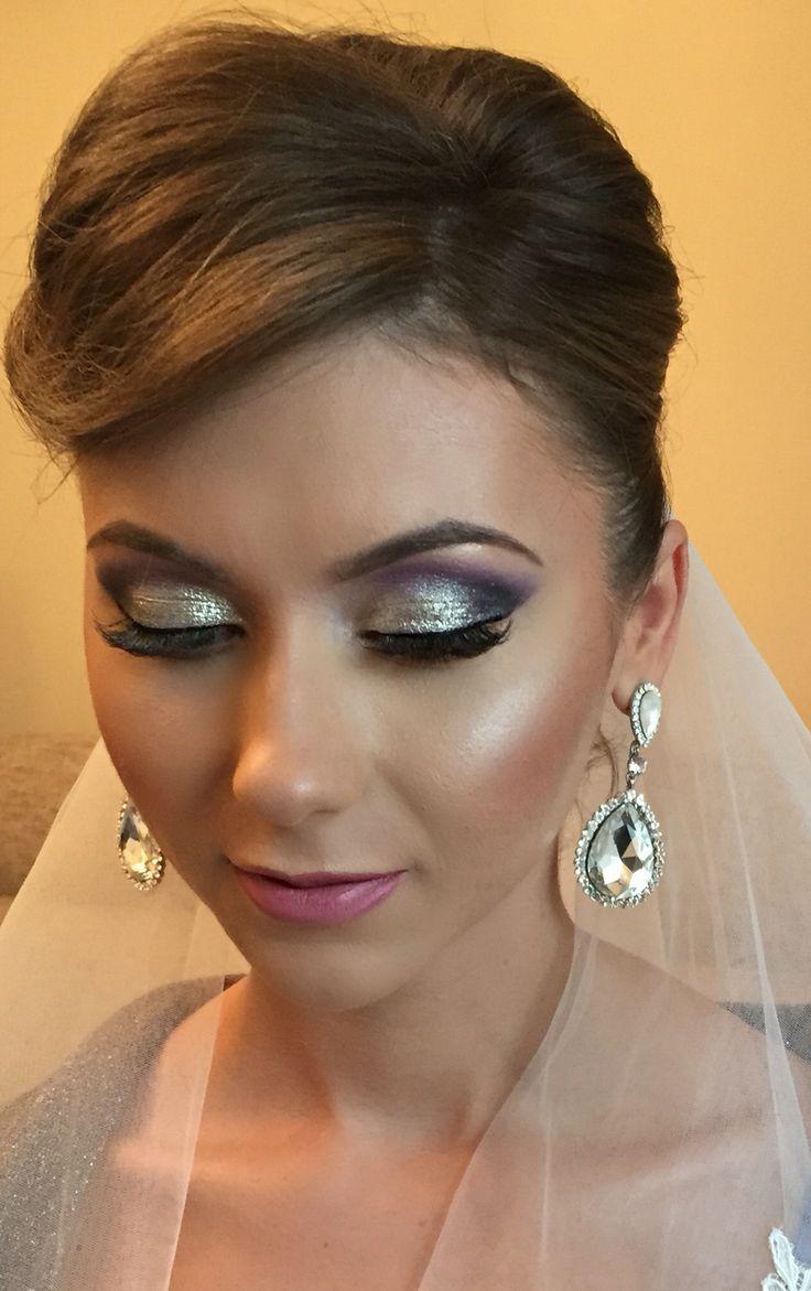 #bridalmakeup #bride #bridallook #makeup #silverglitter