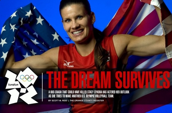 The Dream Survives.... U.S. Olympic Volleyball Player Stacy Sykora and her battle to make it back to her 4th Olympics!