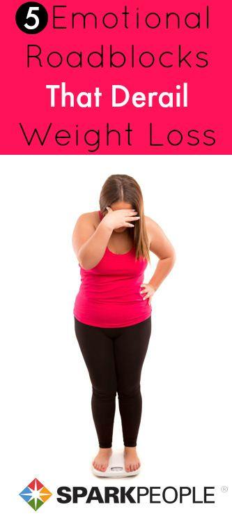 5 Emotional Roadblocks that Derail Weight Loss