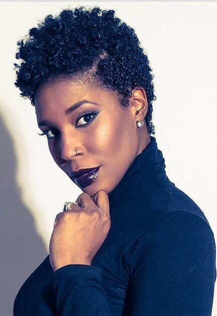 Curl definition, check it out: Nice tapered cut http://www.shorthaircutsforblackwomen.com/curl-defining-products/
