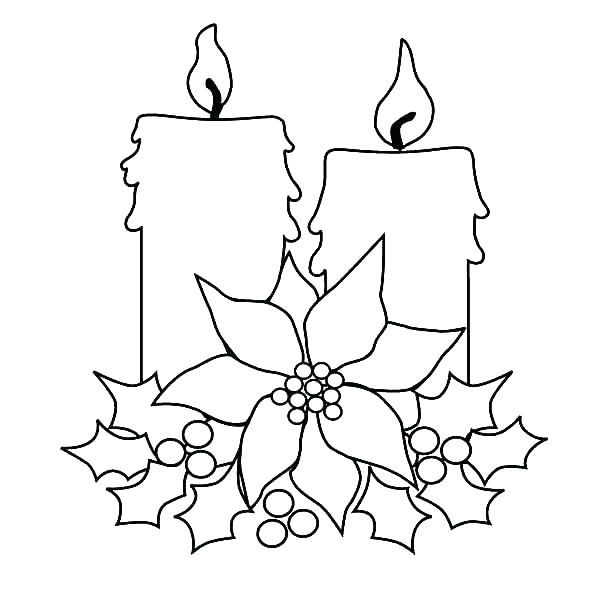 Candle Coloring Page Candle Coloring Sheet Candle Coloring Sheet