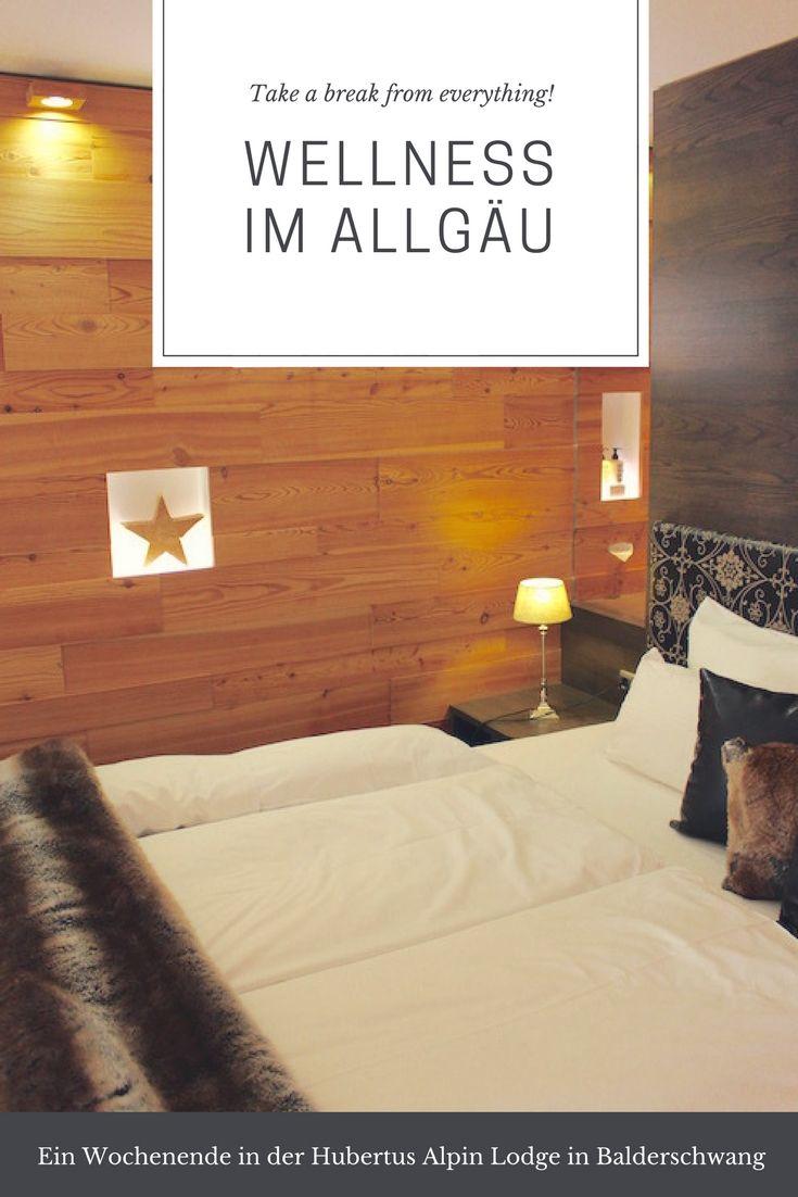 Wellness im Allgäu tut gut - sogar Adrenalinjunkies wie mir. Von meinem Wochenende in der Hubertus Alpin Lodge in Balderschwang.