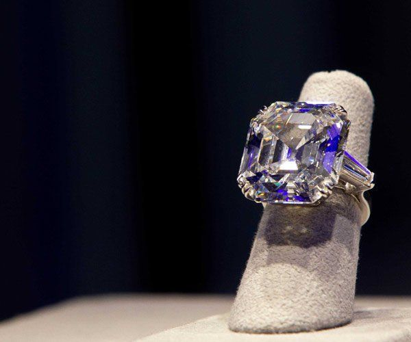The Elizabeth Taylor Diamond given to her by Richard Burton in 1968 is a 33.29 carat Asscher-cut ring. She wore it nearly every day.
