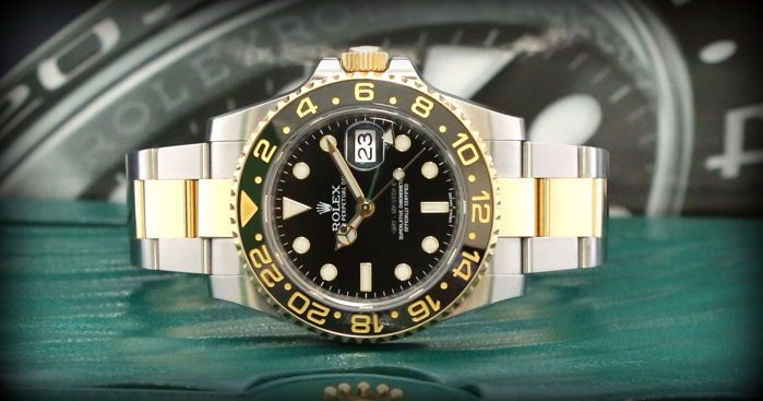 Catawiki online auction house: Rolex - GMT Master II 116713LN Full -Set Top Condition - Men - 2011-present