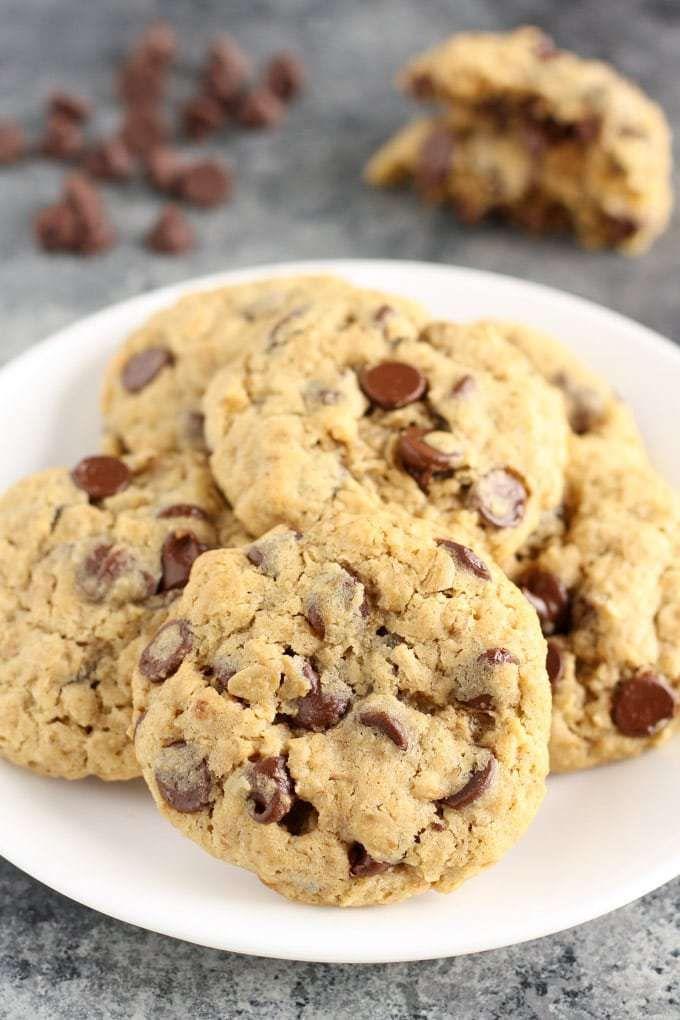 Small Batch Oatmeal Chocolate Chip Cookies 2018 Fall Bucket List