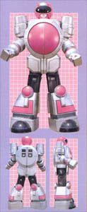 Power Rangers Zeo |  Pink Ranger Super Zeo Zord