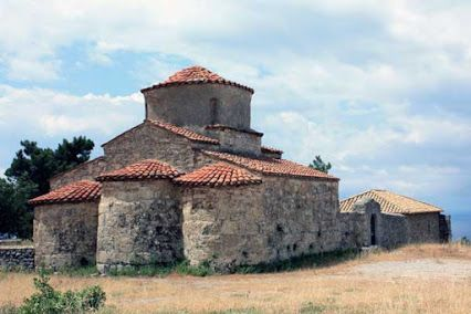 Byzantine church of Agios Nikolaos, PLATSA Mani, Greece (Βυζαντινός Ναός Αγίου Νικολάου, Πλατσα Μεσσηνιακή Μάνη)
