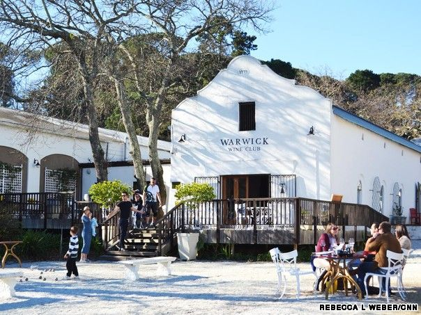 Warwick Wine Estate - Cycling South Africa's wine routes | CNN Travel