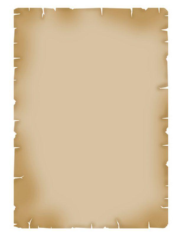 Como fazer convites de pergaminho