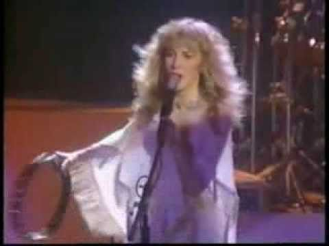 an awesome concert, with Stevie high kicks & twirls, nearly an hour long by Stevie  ~ ♪♫☆❤☆♫♪ ~ wearing a white Margi Kent outfit, & the girls & her musicians, all introduced by name in this video; this concert was the first time Sharon Celani and Lori Perry-Nicks sang onstage with Stevie ~  her 'White Winged Dove Tour' 1981 & introduced by Stevie's Dad; Stevie supported the release of her debut solo studio album 'Bella Donna' with this short 10-date concert tour…