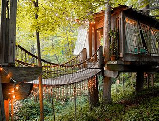An Airbnb treehouse? For real. Brilliant. (It's in Atlanta.)