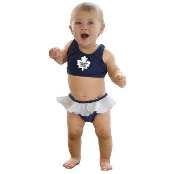Toronto Maple Leafs Baby Bikini SO Adorable!!!