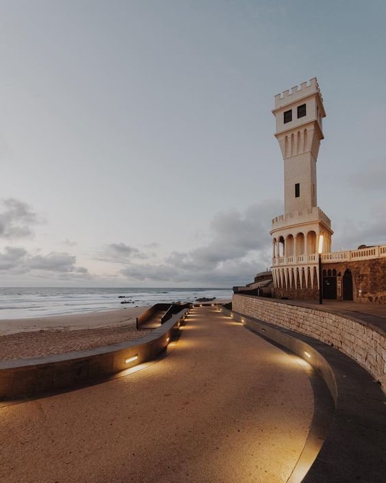 Santa Cruz beach, Portugal by Mirandas    Portuguese beachs as inspiration      Magoito beach by Mirandas      Stella McCartney Spring 201...