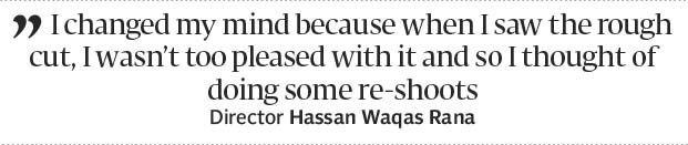 Yalghaar director blames re-shoots for delay in films release - The Express Tribune