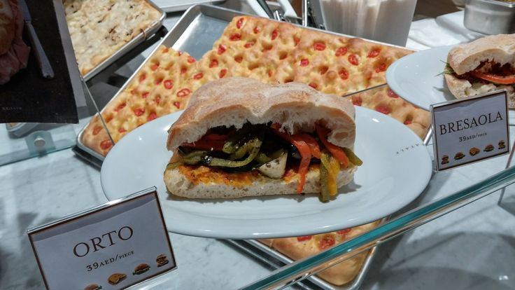 Taste of Italy? You can try it in the heart of Dubai - Italian Sandwitch