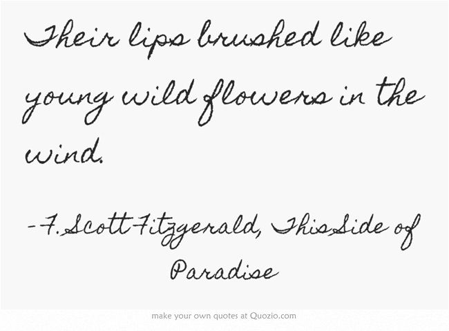 F. Scott Fitzgerald, This Side of Paradise
