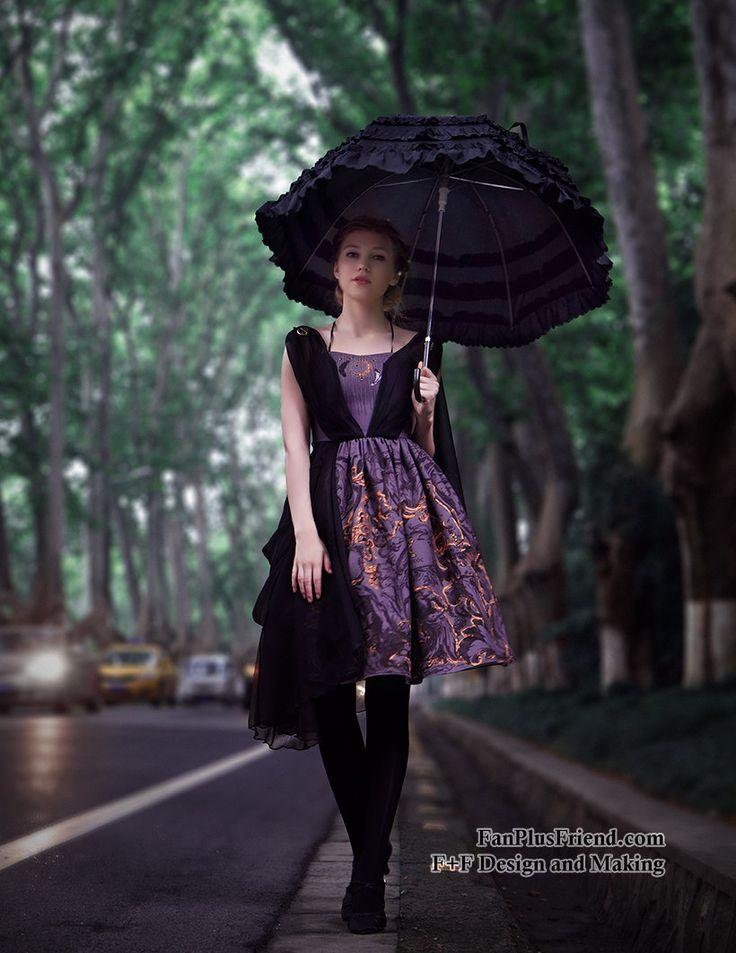 Vintage Midi Floral Dress Ancient Greek Goddess Dress Summer