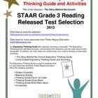 This classroom tested product includes the complete analysis for the STAAR released test selection: The Story Behind the Crunch. It is released as ...