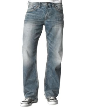 Silver Jeans Co. Men's Gordie Loose Fit Jeans - Blue 40x30