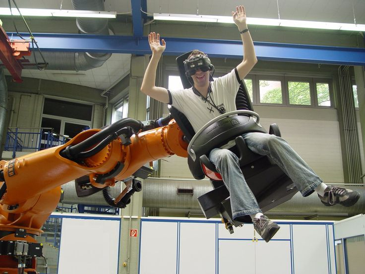 A thrilling experience with RoboCoaster! #Industrial machines and equipment on #DirectIndustry