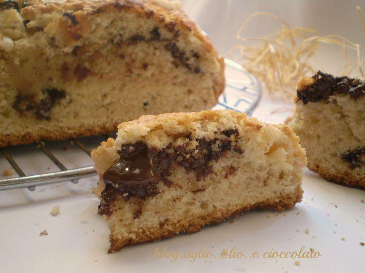 La torta da colazione al cioccolato è una torta con un'impasto particolare aromatizzato al caffe' rimane morbida ma nello stesso tempo molto friabile
