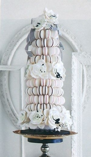 For those who love Macaroons - this would be a prefect wedding cake alternative!