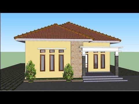 Desain Rumah Sederhana Minimalis 8x12 Youtube Architect House Styles Outdoor Structures