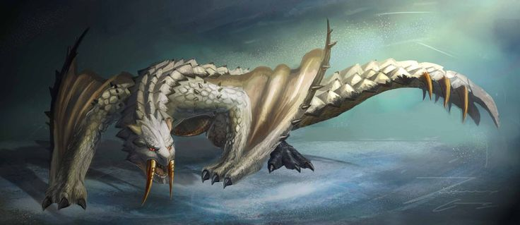 1182 best images about video game creatures on pinterest for Piscine wyvern