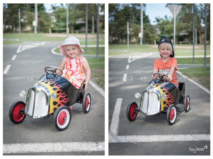 The hot rod - The hot rod is available for single shots, party shots or family sessions.