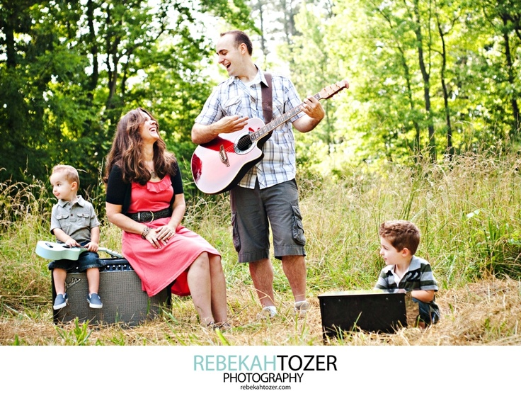 Music and family. With both I'm complete, without one I'm nothing. My future children's hearts are going to be filled with music and love :)