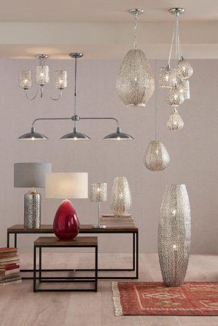Buy Oriana Nickel Floor Lamp From The Next UK Online Shop