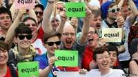 """Huge Republic of Ireland vote for gay marriage 