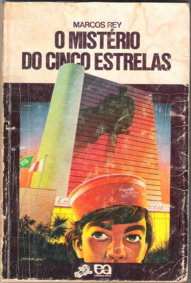O MIstério do Cinco Estrelas, Marcos Rey | 40 livros que vão fazer você morrer de saudades da infância