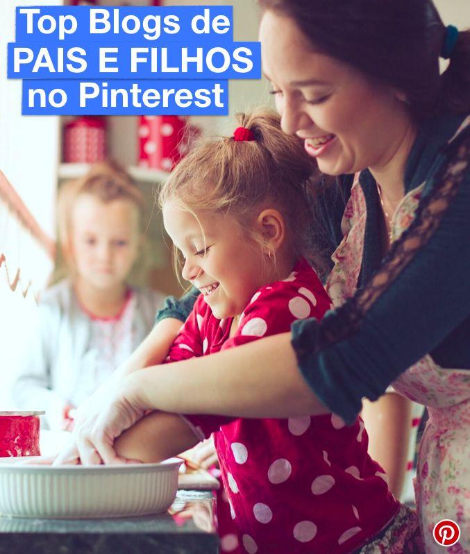 Saiba quais são os TOP Blogs de Pais e Filhos do Pinterest, e confira todas as suas dicas!