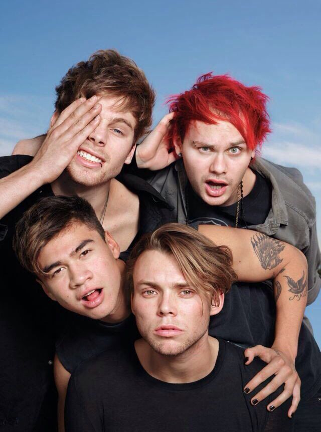 5 Seconds of Summer in Rolling Stones Magazine