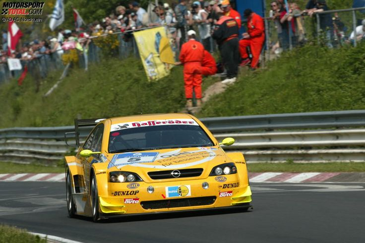 Winners of the 24 Hours Race at the Nürburgring – 2003: Reuter/Scheider/Tiemann/Strycek - Opel Astra V8 Coupé